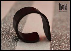 anello realizzato con veri dischi di vinile