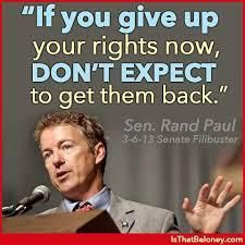 """.Randal Howard """"Rand"""" Paul (born January 7, 1963) is the junior United States Senator for Kentucky. He is a member of the Republican Party, and the son of former U.S. Representative and presidential candidate Ron Paul of Texas."""
