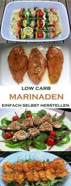 low carb Marinaden ganz einfach selbst herstellen Egal ob Gemüse, Fleisch oder Fisch… mit der richtigen Marinade wird's erst richtig lecker. Natürlich verwenden wir für die