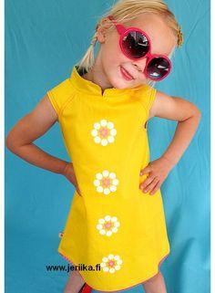 Albababy Astrid Dress keltainen mekko