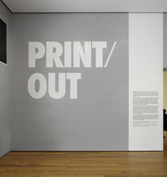 Print/Out - The Department of Advertising and Graphic Design