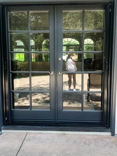 We installed this set of Double Door Retractable Screens with black housing and pullbars in Westlake Village, California! Are you in the market for Retractable Screens for your own home? Visit www.chiproducts.com or call (866) 567-0400 for a free estimate! Retractable Screen Door, Westlake Village, Closet Doors, Double Doors, Orange County, French Doors, Screen Doors, California, Free