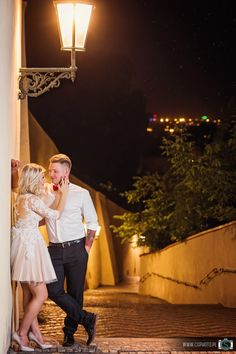 Prague by night <3 | Wedding Photography by Creative Solutions | www.csphoto.pl