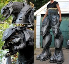 Freaking awesome elite cosplay suit.