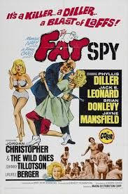 ''The Fat Spy'' 1966 movie poster.