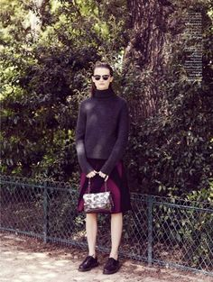 LOfficiel Editorial August 2014 - Lara Mullen by Stian Foss