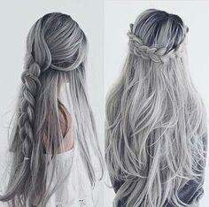 Hairstyles #cabelo #haistyles #tranças #penteados #hair