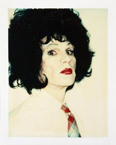 Andy Warhol in drag More Pins Like This At FOSTERGINGER @ Pinterest