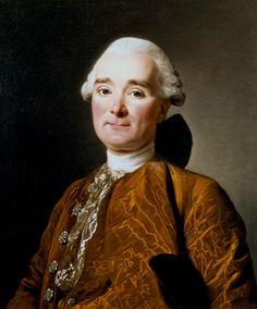 Portrait of Martin Pierre Foache by Alexander Roslin - look at that silk moiré suit...