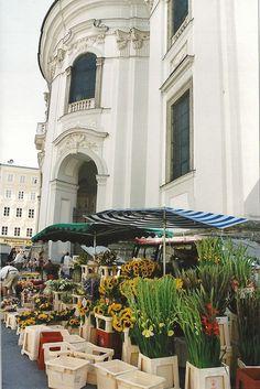 Outdoor Markets... Salzburg (Austria)...