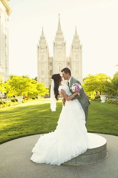 Modest, ballgown wedding dress