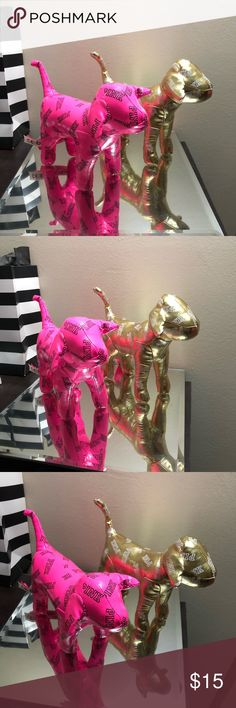 Two VS PINK dogs In excellent condition PINK Victoria's Secret Accessories