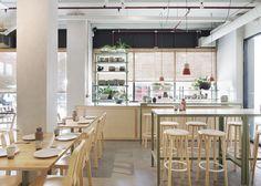 Ruyi Dumpling Bar | © Shannon McGrath 04 | Est Magazine Modern Restaurant, Restaurant Design, Restaurant Bar, Restaurant Interiors, Restaurant Concept, Australian Interior Design, Interior Design Awards, Design Interiors, Architectural Digest