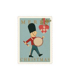 Maileg Skittle and Drum Gift Card - A Stationery and Craft Emporium - le petit paperie