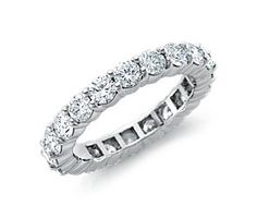 Diamond Eternity Ring in Platinum - Letta's wishlist