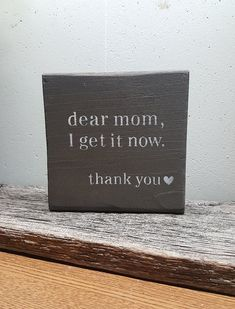 Mothers Day, Mothers Day Gift, Mom Birthday, Life Quotes, Simple Quotes, Wood Quote Blocks, Birthday Gift, Gift for Her Such a beautiful sentiment that will warm a Moms heart ! This sweet saying looks beautiful on our farmhouse style sign. A wooden quote block that can put on a shelf,