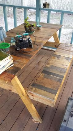 While planning something for your outdoor, never forget to consider the pallet…