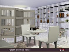 evi's Sims 4 Downloads Sims Community, Electronic Art, House Interiors, Sims 4, Improve Yourself, Shelves, Content, Home Decor, Shelving