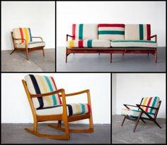 Hudson's Bay Blanket Furniture