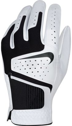 promo code 92f99 55b47 The dri fit material at the back of the hand of this mens dri fit tech golf  glove by Nike helps with breathability and wicking away moisture!