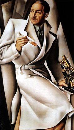 Tamara De Lempicka | Polish-born American Art Déco painter