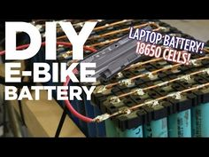 DIY Lithium Ion E-Bike Battery Pack from 18650 Laptop Batteries - YouTube