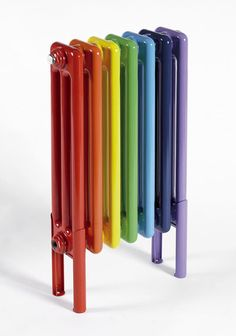 Rainbows:  #Rainbow radiator.