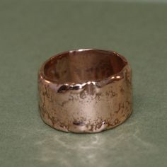 Copper Ring Handmade Recycled Metal by RecycleCreate on Etsy, $45.00