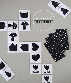 Mer Mag for Handmade Charlotte: Free Printable Domino Activity for kids! Printable Activities For Kids, Craft Activities, Free Printables, Kids Crafts, Craft Projects, Dominoes For Kids, Dominos, Printable Shapes, Do It Yourself Inspiration