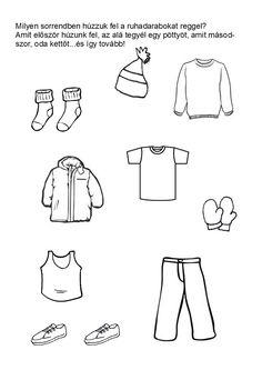 Milyen sorrendben húzzuk fel a ruhadarabokat?
