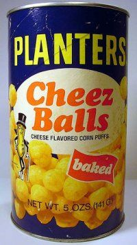 Planters Cheeze Balls can