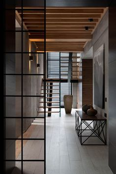 Two Levels House is designed by NOTT Design Studio and is located in Ukraine and photo is made by NOTT Design Studio. - Architecture and Home Decor - Bedroom - Bathroom - Kitchen And Living Room Interior Design Decorating Ideas - Decoration Inspiration, Interior Design Inspiration, Decor Interior Design, Interior Decorating, Design Ideas, Design Interiors, Modern Interiors, Design Trends, Interior Doors