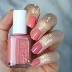 Essie Spring 2018 Collection : Swatches, Review and Comparisons | Essie Envy | Bloglovin'