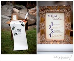 Abby Grace Photography Harry Potter themed Style Shoot - LOVE this idea for a guest book alternative!!
