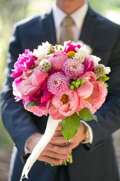 The most amazing pink bouquet!