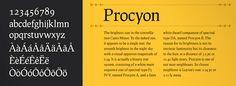 Prociono Free Font May the Font be with you 18   Hanken Round, Jaapokki, Prociono, Powder Script