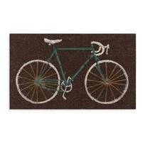 Cyclists welcome mat. LOVE