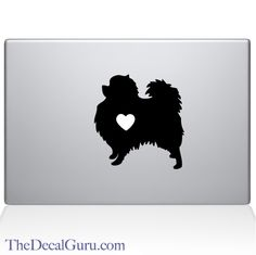 Pomeranian Macbook Decal
