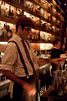 Bartender at Rickhouse in San Francisco by ToastyKen, via Flickr