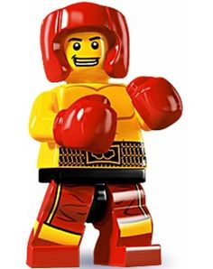 LEGO 8805 Mini Fig Collection Series 5 Boxer Minifigure