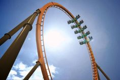 Thunderbird is the nation's first launched wing-formation steel roller coaster.