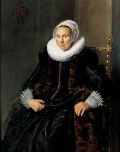 Frans Hals - Portret van Cornelia Vooght