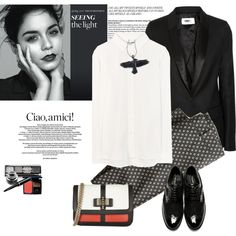 Black raven.., created by gul07 on Polyvore
