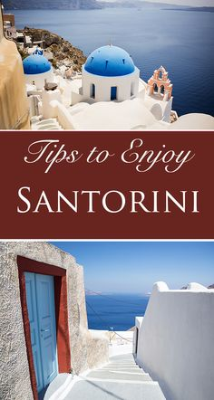 Rent a sailboat, tour in a 4 wheeler, sample food and wine while watching the sunset...so much to do on the Greek island of Santorini!!
