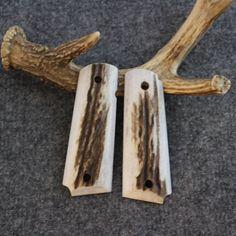 1911 Custom Handmade Elk Pistol Grips  Item #556 by MDGrips on Etsy