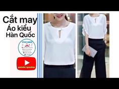 Sewing Hacks, Sewing Projects, Princess Cut Blouse, Sewing Patterns, Chart, Youtube, Shopping, Clothes, Tops
