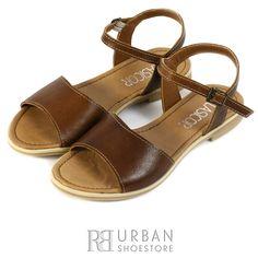Sandale din piele naturala, maro Shoes, Fashion, Moda, Zapatos, Shoes Outlet, Fashion Styles, Shoe, Footwear, Fashion Illustrations