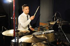 Harry Judd of McFly performs for a Biz Session on November 6 2012 in London England