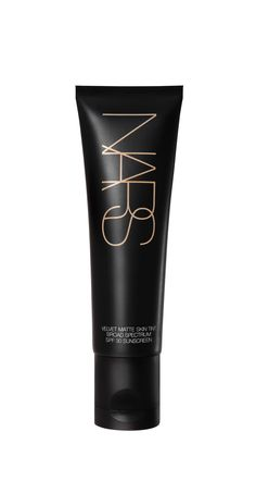 Nars Cosmetics Velvet Matte Skin Tint SPF 30 Why we want it: This sheer-to-medium coverage foundation acts like an Instagram filter for your pores. Rose fruit extract controls shine while the oil-free, lightweight formula won't congest your complexion. It's available in 12 shades.