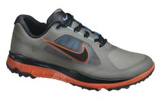 The Nike FI Impact golf shoe is designed to mimic and conform to the natural… Mens Nike Golf Shoes, Best Golf Shoes, Mens Golf Outfit, Spikeless Golf Shoes, Cheap Golf Clubs, Sneakers Fashion, Sneakers Nike, Golf Pride Grips, Shoe Deals